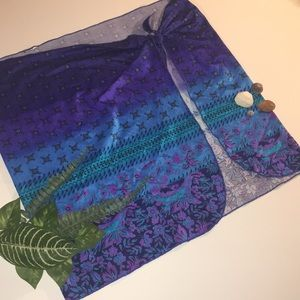 Other - Bohemian print sarong/coverup